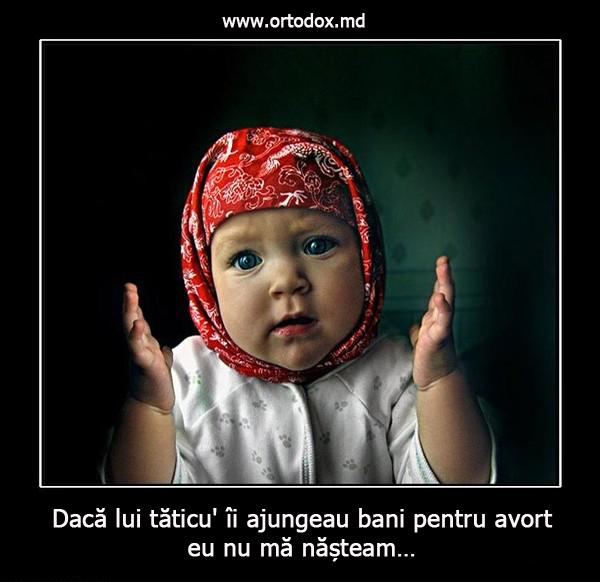 spune nu avortului