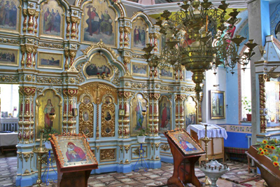 Inside view in Church
