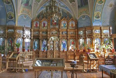Three Hierarchs Church_inside view