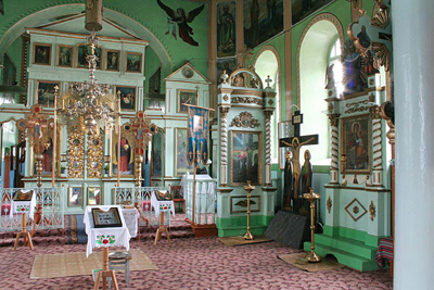 Voievozi saints church_inside view