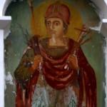 Minunea frescei Sfântului Dimitrie de la mănăstirea Curchi
