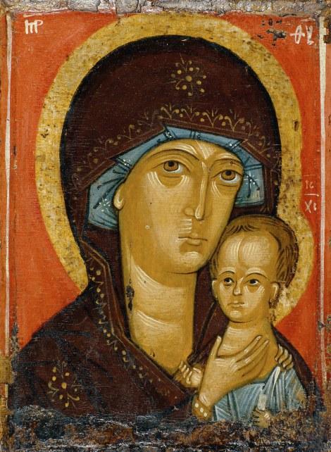 Icoana Maicii Domnului Petrovskaia