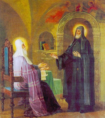 Cuviosul Serghie refuză episcopia