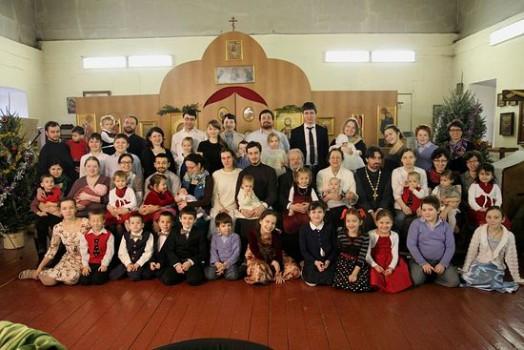 Familia tatălui Alexander Iliashenko