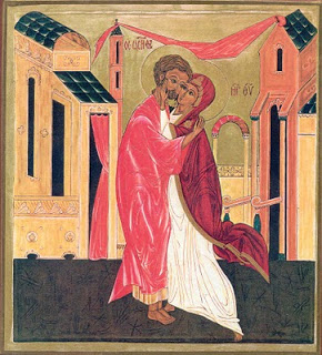 Icoana falsa din punct de vedere teologic: Iisus nu este nascut din conceptia lui Iosif si a Mariei
