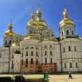 Cathedral of the Dormition (Uspenskiy Sobor) in Kievo-Pecherskaya Lavra, Kiev