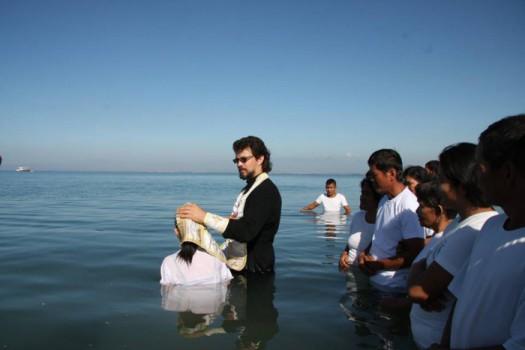 botez ortodox in masa in filipine