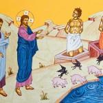 Sfântul Nicolae Velimirovici: Predică la Duminica a V-a după Rusalii – Vindecarea celor doi demonizaţi din Gadara