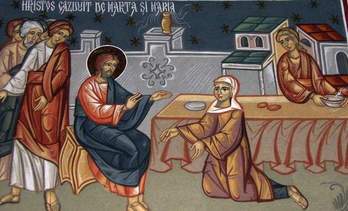 Hristos-gazduit-de-Marta-si-Maria-man.-Stramba-Gorj