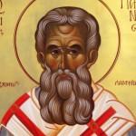 Acatistul Sfântului Ierarh Partenie, Episcopul Lampsacului, Tămăduitorul cancerului şi al tuturor bolilor şi biruitorul demonilor