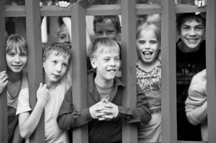 Copiii din internate