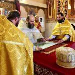 Sfânta și Dumnezeiasca Liturghie în Duminica a XVIII-a după Cincizecime, la mănăstirea Curchi