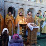 """Catedrala episcopală """"Sf. Bnc. Knz. Alexandru Nevski"""" din Ungheni, îmbrăcată în haine de sărbătoare cu ocazia prăznuirii ocrotitorului ceresc"""