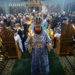 """Intrarea Maicii Domnului în Biserică, sărbătorită la Catedrala episcopală """"Sf. Bnc. Knz. Alexandru Nevski"""" din Ungheni"""