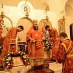 Slujire arhierească de Sărbătoarea Sf. Iacob Persul la Mănăstirea Sireți