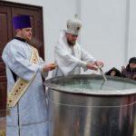 Slăvitul praznic al Botezului Domnului, la Catedrala episcopală din Soroca