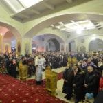 """În noaptea praznicului împărătesc Botezul Domnului, PS Episcop Petru, a oficiat Dumnezeiasca Liturghie la mănăstirea """"Cuvioasa Parascheva"""" Hîncu"""