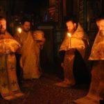 Slujba Privegherii în ajunul Duminicii Înfricoșătoarei Judecăți, la Mănăstirea Ciuflea din Chișinău