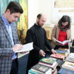 Donaţie de carte pentru biblioteca Academiei de Teologie Ortodoxă din Republica Moldova
