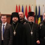 Doi slujitori din cadrul Bisericii Ortodoxe din Moldova — Absolvenţi ai cursului postuniversitar în domeniul securităţii şi apărării naţionale