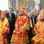"""Slujire arhierească de hramul bisericii """"Sf. Chiril şi Metodie"""" din or. Dnestrovsc, Transnistria"""