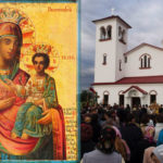 Priveghere arhierească de toată noaptea în cinstea Icoanei Maicii Domnului Prodromița, la Mănăstirea Sireți