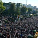 Record de pelerini veniți anul acesta la Iași să se închine la moaștele Sfintei Parascheva
