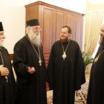 """PC Părinte Arhimandrit Melchisedec (Velnic): """"Am trecut Prutul pentru a vă aduce în chip duhovnicesc pe Sfântul Ierarh Iacob Putneanul, Mitropolitul Moldovei"""""""