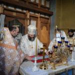 """Sfinții Arhangheli, sărbătoriți prin Liturghie arhierească la biserica """"Sf. Arh. Mihail și Gavriil"""" din sectorul Slobozia Doamnei, Municipiul Orhei"""