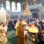 """Slujire Arhierească la Catedrala Episcopală """"Sf. Bnc. Knz. Alexandru Nevski"""" din municipiul Ungheni"""