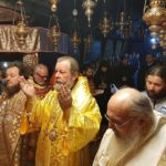 De sărbătoarea Sfântului Apostol Andrei, ÎPS Mitropolit Vladimir a liturghisit în biserica Nașterii Domnului din Bethleem
