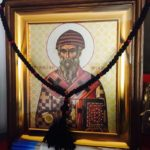 """În perioada 24-25 decembrie, la biserica """"Întâmpinarea Domnului"""" din Chișinău va fi adusă spre închinare icoana Sf. Irh. Spiridonal Trimitundei,Făcătorul de minuni,cu părticică din cinstitele sale moaște"""