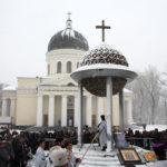 Ajunul Bobotezei la Catedrala Mitropolitană din Chișinău. ÎPS Mitropolit Vladimir a oficiat slujba Aghesmei celei Mari