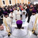 """Ajunul Botezului Domnului la Catedrala Episcopală ,,Sf. Bnc. Knz. Alexandru Nevski"""" din Ungheni"""