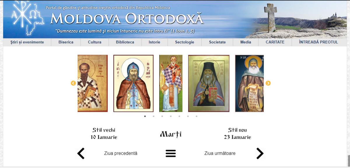 calendar crestin ortodox 2016 mitropolia moldovei