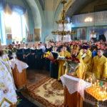 În ziua împlinirii a 13 ani de arhierie, PS PETRU, a Liturghisit in parohia Sf. Ierarh Nicolae din satul Tibirica raionul Calarasi
