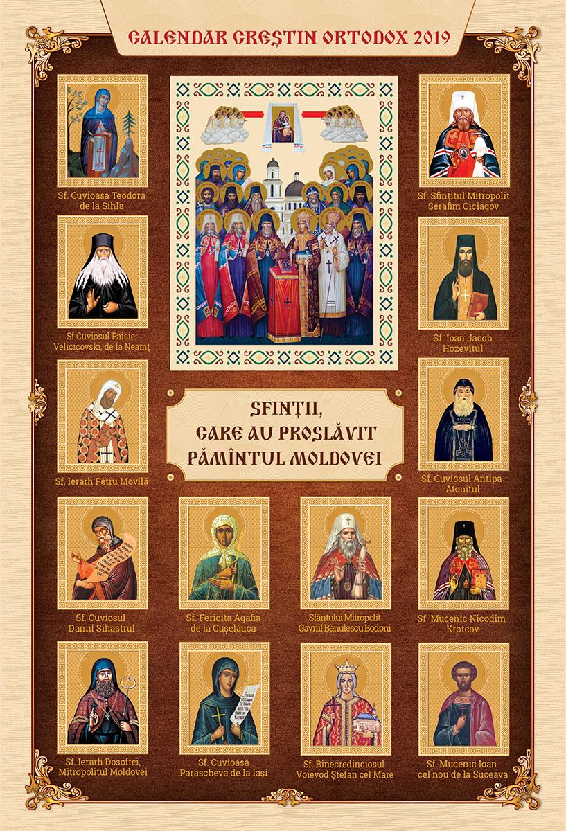 calendar creștin ortodox decembrie 2019