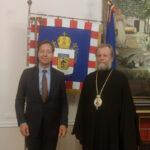 ÎPS Mitropolit Vladimir a primit vizita Ambasadorului Extraordinar și Plenipotențiar al Regatului Țărilor de Jos în Republica Moldova, Excelenţa Sa Roelof van Ees