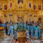 """""""Maica Vieții s-a născut spre mântuirea a toată lumea…"""" Mănăstirea Curchi și-a serbat hramul de praznicul Nașterii Maicii Domnului"""
