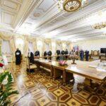 În perioada 23 – 24 septembrie, ÎPS Mitropolit Vladimir a participat la ședința Sfântului Sinod al Bisericii Ortodoxe Ruse